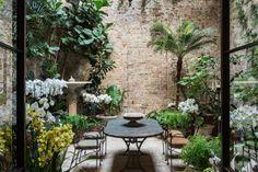 London-Based Interior Designer Rose Uniacke's Indoor Garden