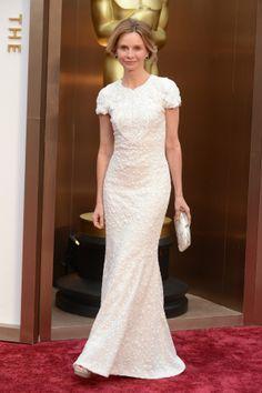 Os vestidos brancos dos Óscares 2014   O blog da Maria. #casamento #vestidosdenoiva #vestidos #gala #Oscars2014