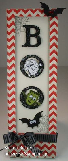 Stampin' Up! Halloween  by Sharon Burkett: Googly Ghouls