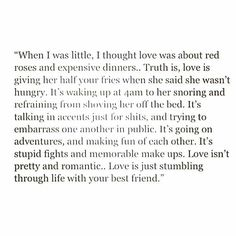 Love is just stumbling through life with your best friend. Quotes To Live By, Me Quotes, Love Of My Life, My Love, Philosophy Quotes, Happy Love, My Guy, Happy Thoughts, Relationship Quotes