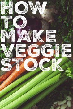 How to Make Vegetable Stock | picklesnhoney.com