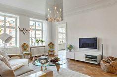 """Элегантные скандинавские квартиры в блоге """"Твой дизайнер"""""""