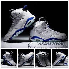 Nike Air Jordan 6 | Classique Chaussure De Basket Homme Blanche Noir-1