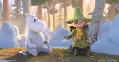 The new, highly anticipated animation series Moominvalley will bring Moomins to life very soon🤩 What do you think of this new image of Moomintroll and Snufkin? 3d Animation, Animation Series, Belgium Germany, Moomin Valley, Sofia Coppola, Uma Thurman, Hayao Miyazaki, Feature Film, New Image