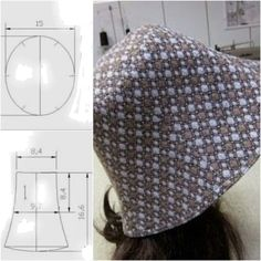 Hat Patterns To Sew, Dress Sewing Patterns, Clothing Patterns, Crochet Waffle Stitch, Diy Clothes Life Hacks, Sewing Accessories, Fashion Sewing, Sewing Techniques, Free Sewing
