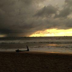 Rainy horizon, Tamarindo, CR