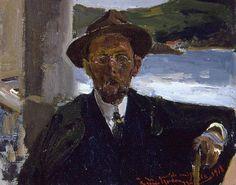 Joaquín Sorolla Bastida -Retrato de Rogelio Gordón en la perla del océano, 1918 - San Telmo Museoa, San Sebastián