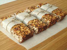 Barras de granola / Granola bars