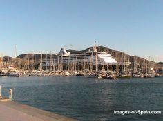 Maasdam cruise ship at Cartagena