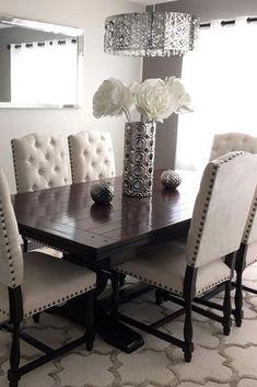 Elegant Dining Room Sets For Your Inspiration ☆ See More:  Http://glaminati.com/elegant Dining Room Sets Inspiration/