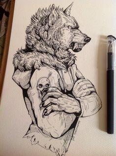 Wolf rising by WolfSkullJack on DeviantArt