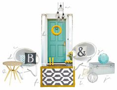 February's Front Door color inspiration! | Delineate Your Dwelling