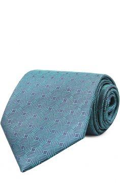Галстук Charvet, синего цвета, арт. 18134 в ЦУМ | Фото №1