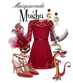 """Masquerade: Mushu"" by jivy44 ❤ liked on Polyvore featuring John Hardy, Yumi, Valentino and ASOS"