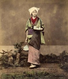 Japanese Samurai And Courtesans Brought To Life In Vivid, Colorized Photos | The Huffington Post