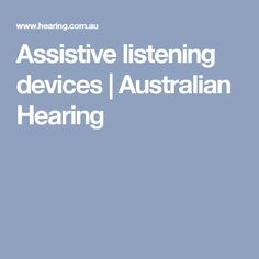 This website provides resources for the hearing impaired and keeps the reader up to date with the latest technology.