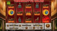 Free Terracotta Wilds slot narrates the story of Terracotta Army of the first emperor of China. The game is powered with 5 reels and 100 paylines, which signifies that you have chances to win generously.