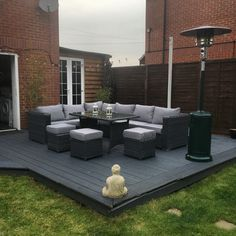 Image result for leisuregrow group cheltenham casual modular dining set