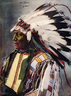 Hollow Horn Bear 1898