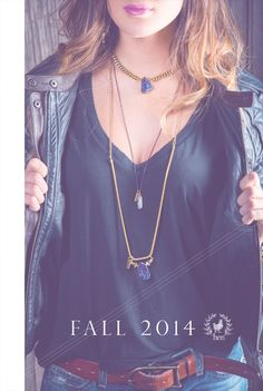 Hen Jewelry's F A L L 2014 Collection Lookbook is now up at www.henjewelry.com. Check. It. Out. Jewlery, Gems, Chain, My Style, Collection, Fashion, Moda, Jewerly, Fashion Styles