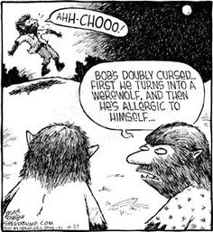 Werewolf Comic