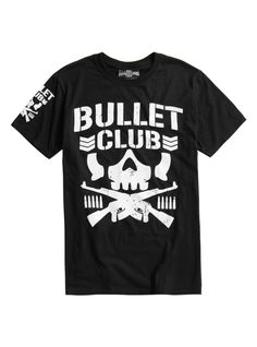 New Japan Pro-Wrestling Bullet Club Logo T-Shirt