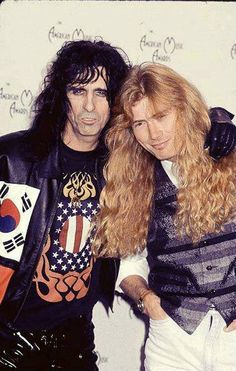 Alice Cooper, Dave Mustaine - Megadeth