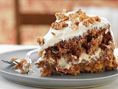 Mother's Carrot Cake with Cream Cheese Frosting Easter Dessert Recipes