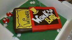 Giant Wonka bar cake