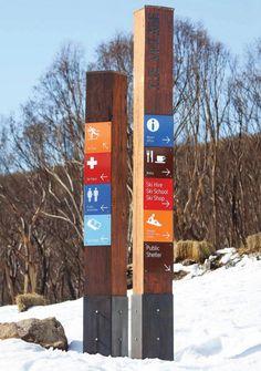 park trail signage