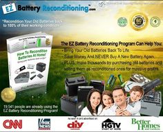 EZ Battery Reconditioning Popular Battery Reconditioning Course Now Available