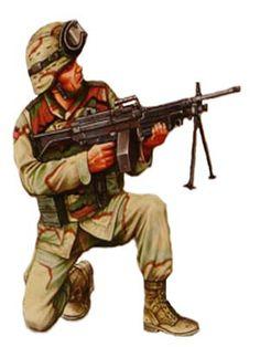 Soldado paracaidista, 101ª Airborne División, Irak, 2008.