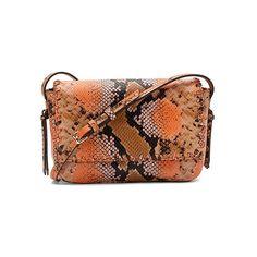 Cole Haan Rumey Crossbody (290 CAD) ❤ liked on Polyvore featuring bags, handbags, shoulder bags, crossbody handbags, handbags & purses, sugar blush snake, hand bags, snake handbags, cole haan purses and cross-body handbag
