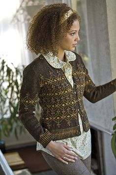 This is on my list to make. Harvest Cardigan by Robin Melanson