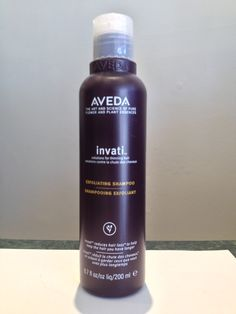 "INVATI Exfoliating Shampoo - ""cleanses, exfoliates and renews the scalp with wintergreen-derived salicylic acid. Clinically proven to remove build-up of sebum and product residue that can clog pores and affect healthy hair. Revitalizing Densiplex with turmeric and ginseng helps energize and rehabilitate the scalp around the follicles when massaged in."""