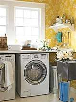 The board across the top of the laundry machines would be a great idea for folding. :)