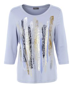 Shirt mit Metallic-Print | Shirts | Damenmode | BASLER Fashion Online Shop