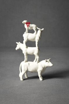 Four-Footed-Fete Cake Topper
