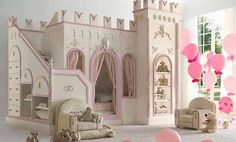 Kids Room. A castle for princess