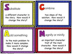 SCAMPER the Story - Higher Order Thinking Skills for Fiction Texts - $