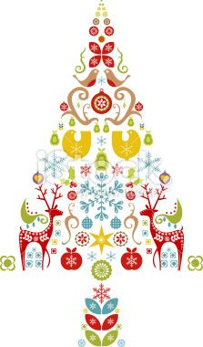 Christmas Tree Design Royalty Free Stock Vector Art Illustration