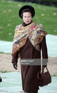 News Photo : Princess Anne Attends The New Zealand Memorial...