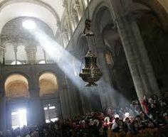 Il botafumeiro di Santiago de Compostela come non lo avete mai visto