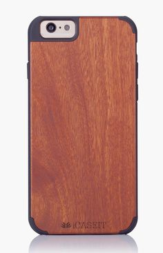 """iCASEIT Wood iPhone Case - Genuinely Natural, Unique & Premium quality for iPhone 6 (4.7"""" Display) - Rosewood / Black: Amazon.co.uk: Electronics"""
