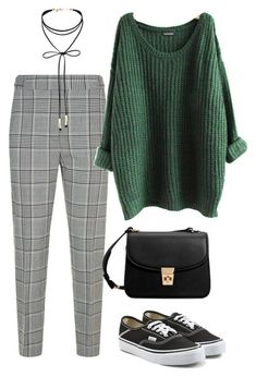"""#253"" by mintgreenb on Polyvore featuring Alexander Wang, MANGO, Vans and Miss Selfridge"