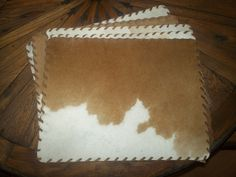 Laced Cowhide Place Mats