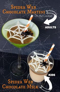 Spider Web Drink Cover