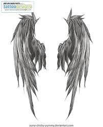 angel wing tattoos idea