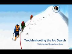 """UGA Career Center presents: """"Troubleshooting the Job Search"""""""