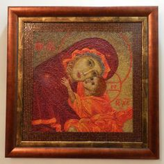 """2012 Other Crafts 1st. Place """"THEOTOKOS"""" by Eleonor"""